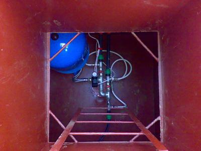 Оборудование кессона скважины